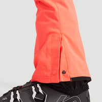 Star Slim Snow Pants | Fiery Coral