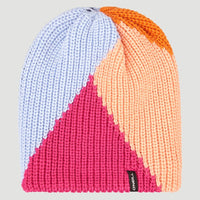 Colorblock Beanie | Candy Pink