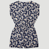 O'Neill Print Playsuit | Blue With Yellow
