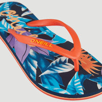Moya Sandals | Blue With Pink or Purple 4