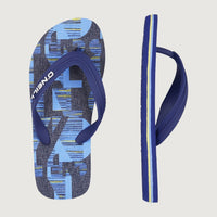Profile Stack Sandals | Blue Print