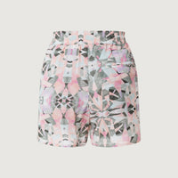 Mix & Match Shorts | White With Green