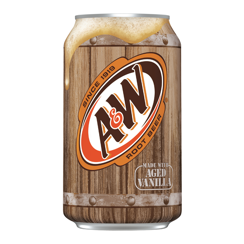 A&W Root Beer - 355ml