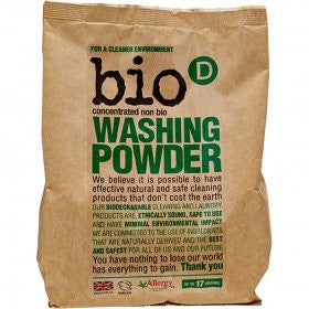 BioD Concentrated Non Bio Washing Powder 1kg