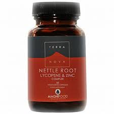 Terranova Nettle root, Lycopene and Zinc complex 50 vegetarian capsules
