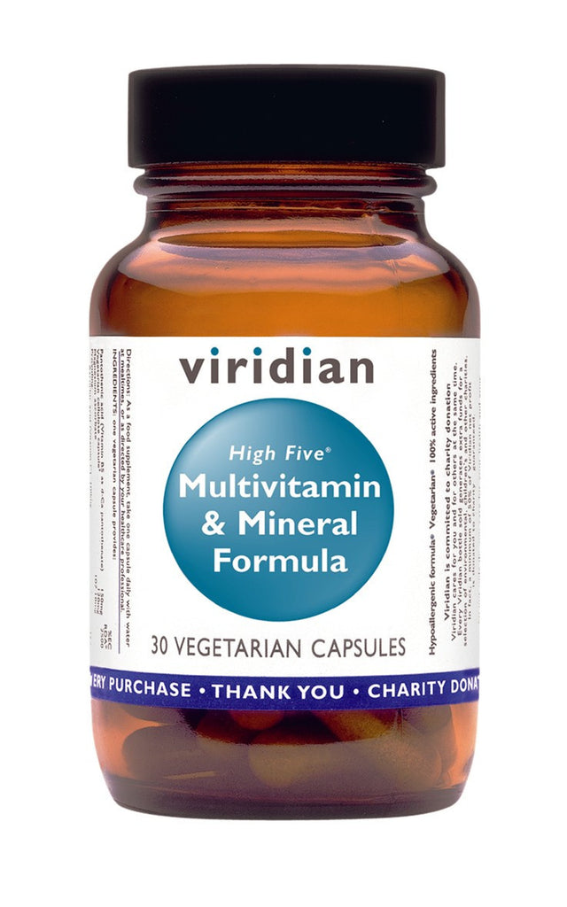 Viridian High 5 Multivitamin and Mineral Formula, 60 Veg Caps