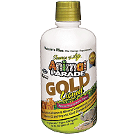 Nature's Plus Animal Parade Gold Liquid for Kids 473.18ml
