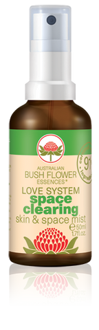 Australian Bush Flower Essences - Space Clearing Spray 50ml