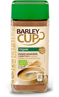 Barleycup, organic instant cereal drink 100g