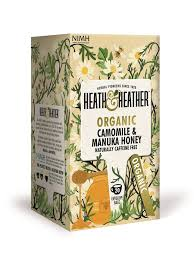Heath & Heather Organic  Chamomile with Manuka Honey 20 tea bags