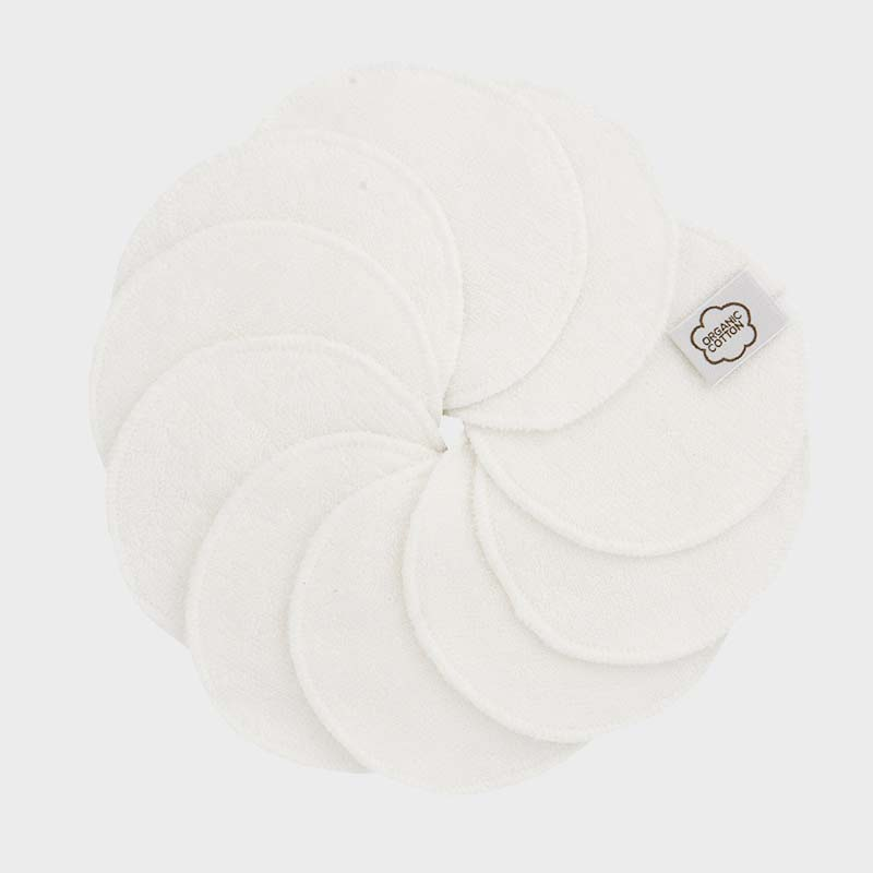 ImseVimse washable cleansing pads pack of 10 white