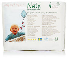Naty Size 4 Eco Disposable Pull-on Pants - 22 pieces