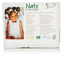 Naty Size 5 Eco Disposable Pull-on Pants - 20 pieces