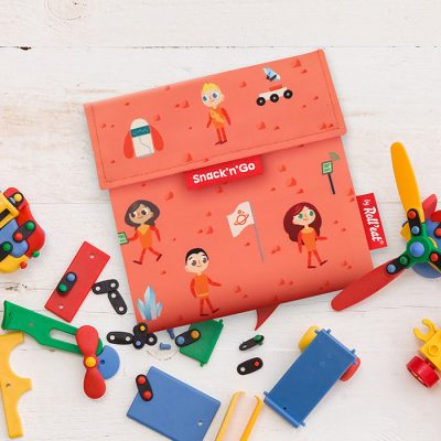 Roll'Eat Snack'n'Go Kids Space Orange Snack Bag