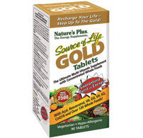 Nature's Plus Source of Life Gold Tablets, 90 tabs