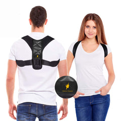 Posture Corrector for Women and Men - Adjustable Shoulder Support Brace