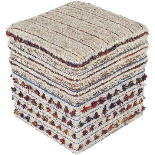 "Scotia SCPF-001 18"" x 18"" x 18"" Pouf - Rays Carpet One Floor & Home"