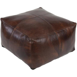 "Sheffield SFPF-001 22"" x 22"" x 13"" Pouf - Rays Carpet One Floor & Home"