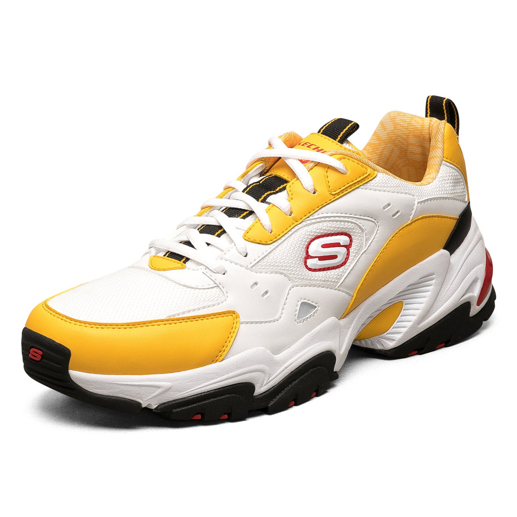 Skechers สเก็ตเชอร์ส รองเท้า ผู้ชาย One Punch Man Stamina V2 Mens Sport Casual Shoes - 666166-WYL