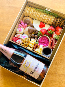 Wine and Box Combo - Valentine's Day