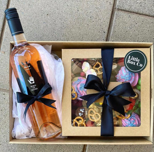 Wine & Mixed Grazing Box Combo