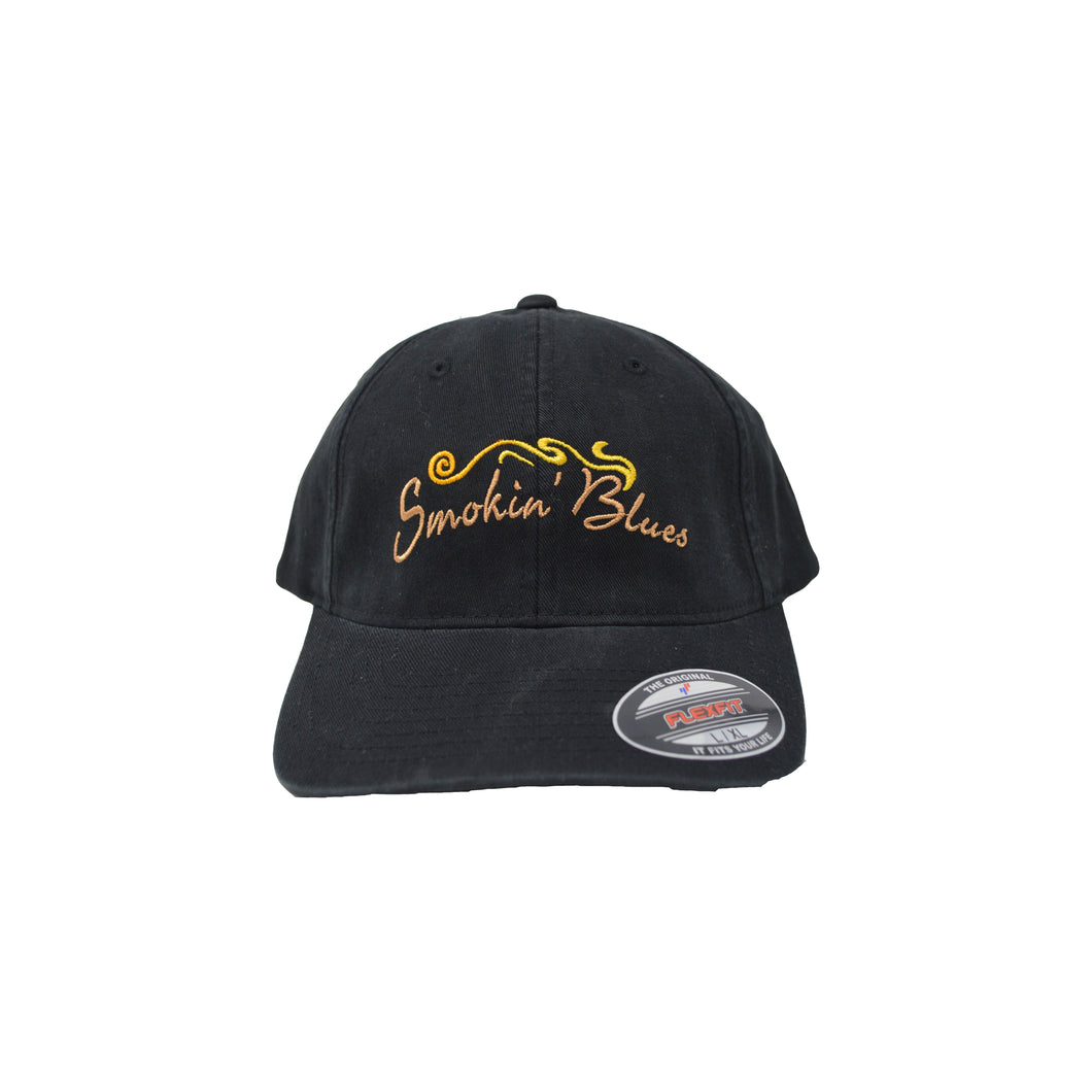 Black Smokin' Blues Flex Hat