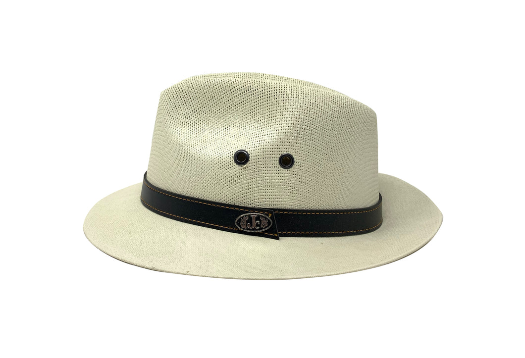 Bright White Santana Ivory Hat