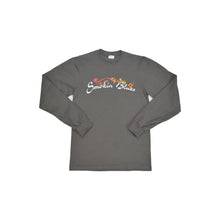 Load image into Gallery viewer, Men's Smokin' Blues Gray Long Sleeve Shirt