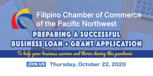 2020 Fall Workshop 2: Preparing a Successful Business Loan and Grant Application