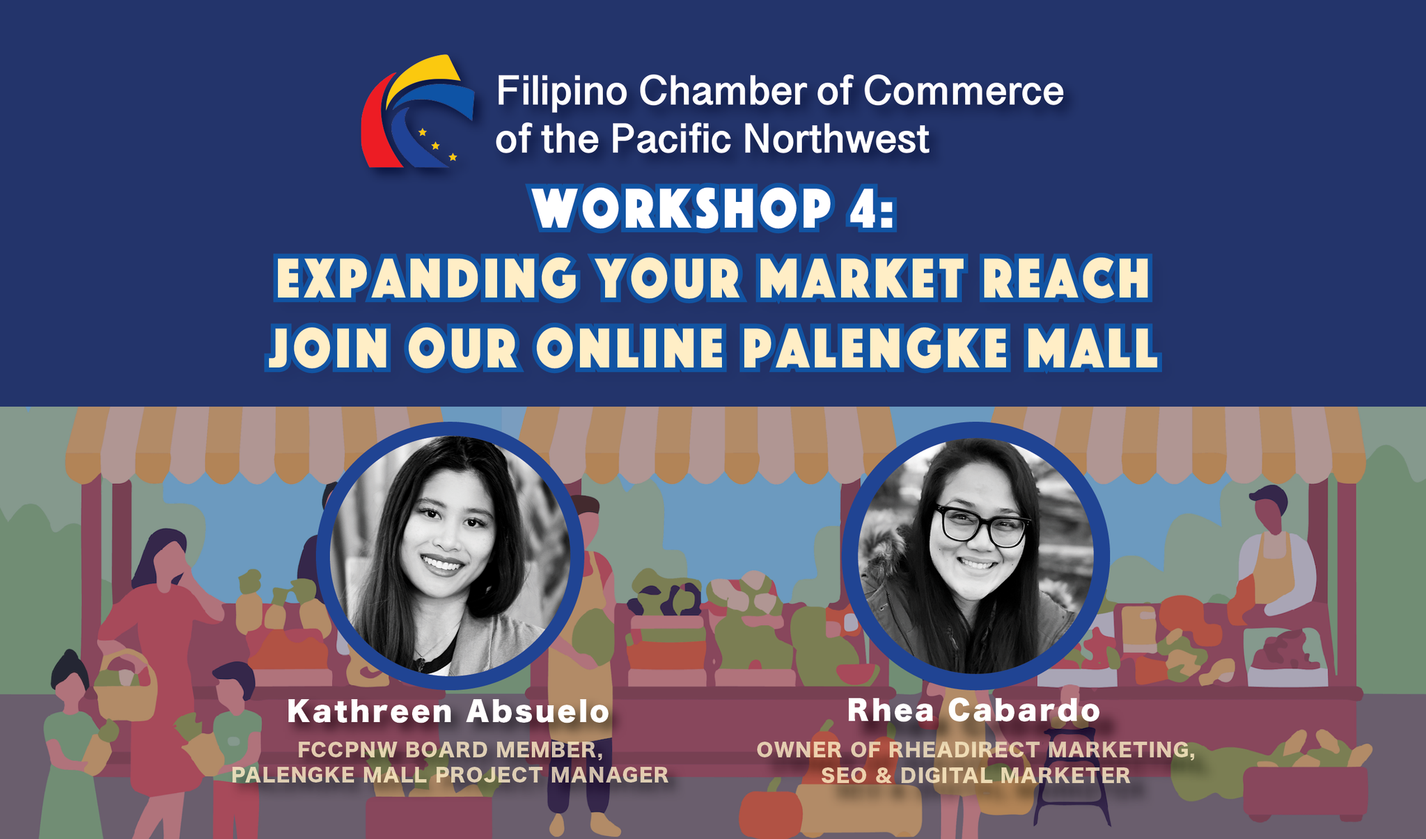 2020 Fall Workshop 4: Expanding Your Market Reach, Join our Online Palengke Mall - December 10, 2020