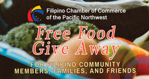 FCCPNW Free Food Give Away Event - November 21, 2020