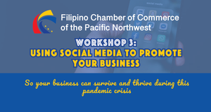2020 Fall Workshop 3: Using Social Media to Promote Your Business - November 19, 2020