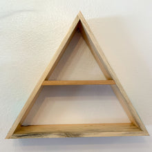 Load image into Gallery viewer, Listen to the Silent Trees Triangle Shelf