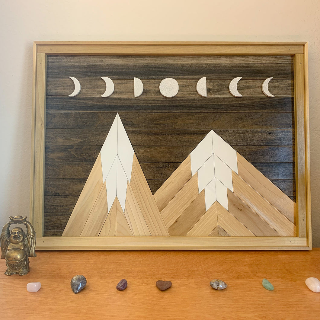 Moon Phase Mountains