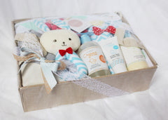 Room to Bloom Linen Gift Box Side