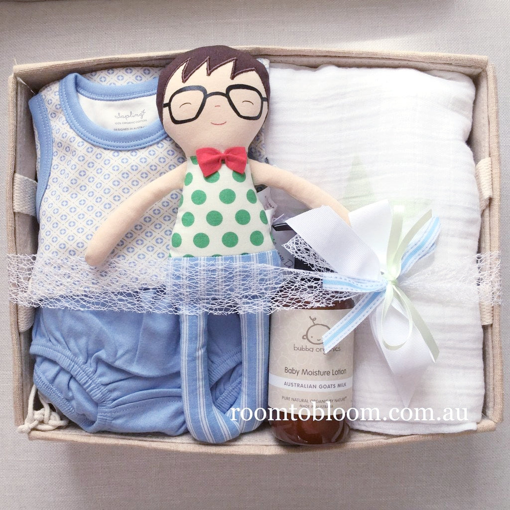 Room to Bloom Soft Spot for You Baby Gift Hamper
