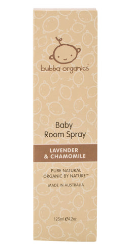 Lavender & Chamomile Baby Room Spray 125ml box
