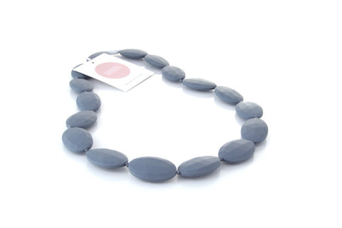 Harper + Hudson Grace Teething Necklace Smoke