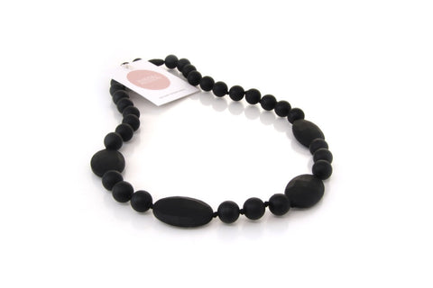 Harper + Hudson Zoe Necklace Black