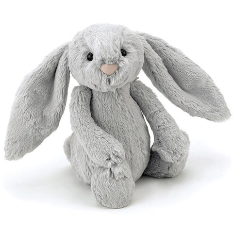 Jellycat London Bashful Bunny - Silver Medium