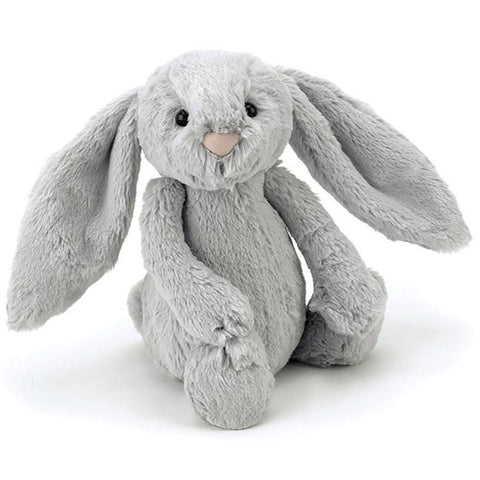 Jellycat London Bashful Bunny - Silver Small