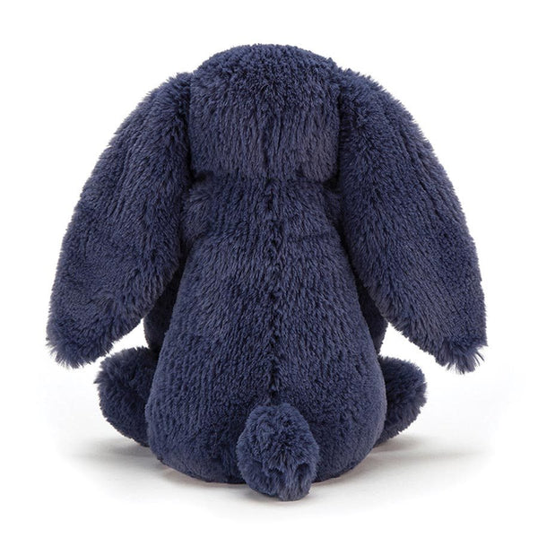 Jellycat London Bashful Bunny - Navy Small back