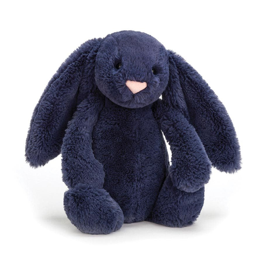 Jellycat London Bashful Bunny - Navy Small front