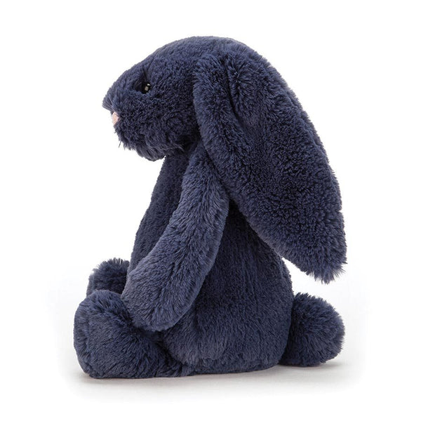 Jellycat London Bashful Bunny - Navy Small side