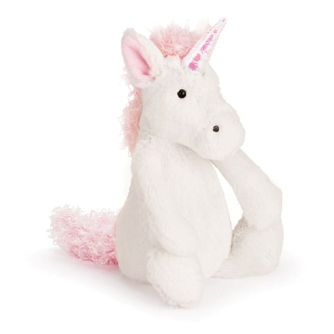 Jellycat London Bashful Unicorn small