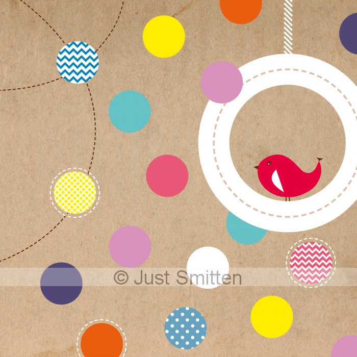 Krafty Spots mini gift card by Just Smitten