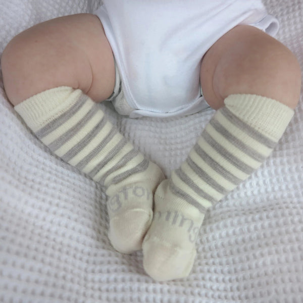 Lamington Newborn Naturals Merino Knee-High Socks - Toi Toi lifestyle