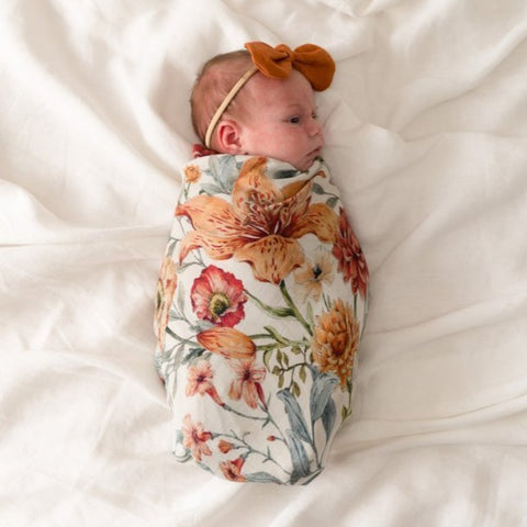 Pop Ya Tot Organic Muslin Swaddle - Le Piccadilly