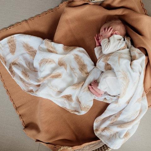 Pop Ya Tot Organic Muslin Swaddle - The Prairie