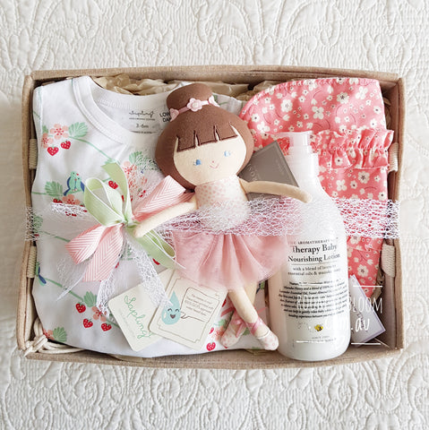 Room to Bloom Baby Ballerina Baby Gift Hamper